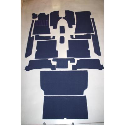 Carpet set 18 pieces '' Blue ''