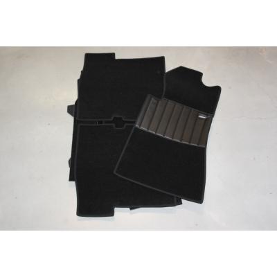 Carpet set 18-pieces '' BLACK ''