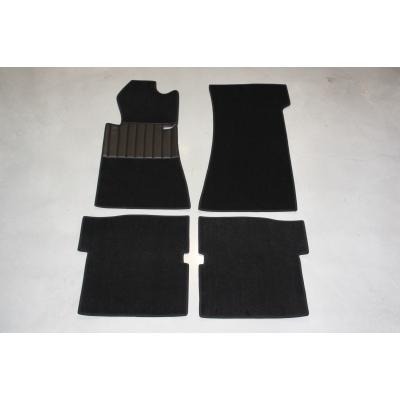 Carpet set 4-pieces '' BLACK ''