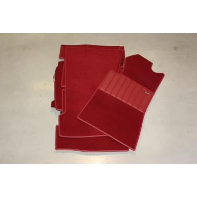 Carpet set 18-pieces '' RED ''