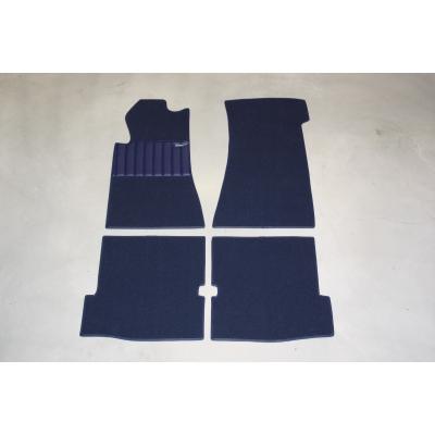 Carpet set 4-pieces '' BLUE ''