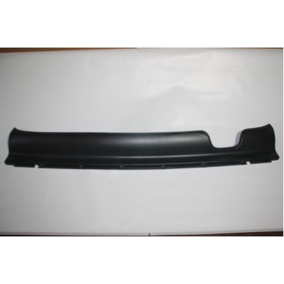 Bottom plate rear bumper middle